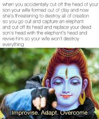 Shiva Meme - shiva saves the day after almost ruining literally everything imgur