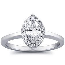 marquise halo engagement ring marquise halo engagement ring by the jewelry exchange