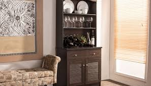 Black Contemporary Sideboard Cabinet Modern Buffets Contemporary Stations Throughout Black