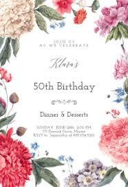 free printable birthday invitation templates greetings island