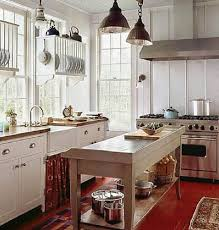 country cottage kitchens light blue floating glass door kitchen