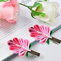 ribbon hair clip ribbon hair tutorial on ribbon