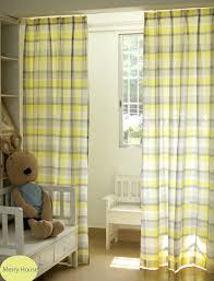 Yellow Nursery Curtains Gray Nursery Curtains Stylish Baby Nursery Curtains Hazagali