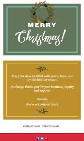 11 holiday email templates small businesses u0026 nonprofits