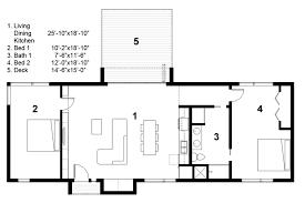 2 bed 2 bath house plans modern style house plan 2 beds 1 00 baths 1160 sq ft plan 497 29