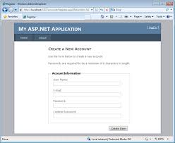 Templates For Asp Net Web Pages | scottgu s blog starter project templates vs 2010 and net 4 0 series