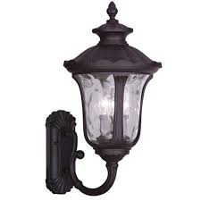 Carriage Lights Lowes by Designers Fountain Palencia 3 Light Artisan Pardo Wash Outdoor
