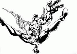 cartoon coloring coloring pages spiderman venom coloring pages