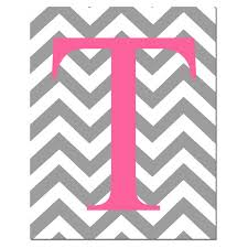 Create Monogram Initials Monogrammed Letter Or Customized Initial 8 X 10 By Tessylaprints