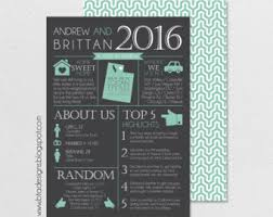 year in review christmas card year in review infographic card christmas card card