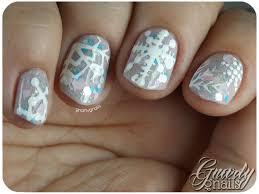 nail art a go go day 21 snow day gnarly gnails