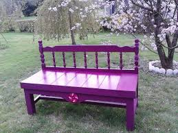 Bench Made From Bed Headboard 39 Best Wooden Bed Bench Images On Pinterest Bed Bench