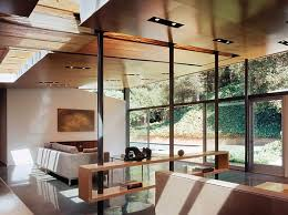 minimalist living room divider