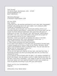 marketing cover letter cover letter sle for marketing upwork help