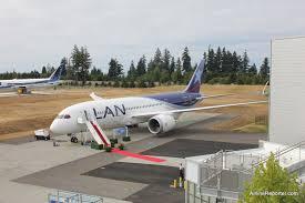 taking lan u0027s boeing 787 delivery flight to santiago part 1