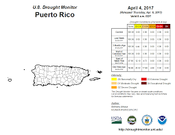 Puerto Rico Airport Map by Drought March 2017 State Of The Climate National Centers For