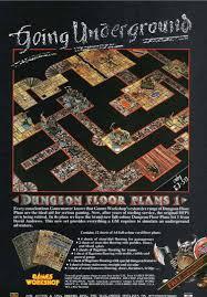 dungeon floor plans 1 white dwarf 77