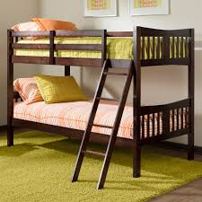 Beds Buy Wooden Bed Online In India Upto 60 Off by Storkcraft Caribou Bunk Bed In Espresso Free Shipping 275 00