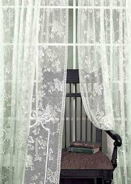 Living Room Curtains On Ebay Old Country Lace Curtains Showy Curtain Irish French Drapes Ebay