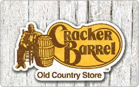cracker barrel gift card cracker barrel 25 egift card giftcardmall