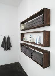 what of wood is best for shelves diy wall shelves in the bathroom tutorial bob vila
