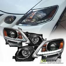 lexus gs430 headlight washer black 2006 2011 lexus gs300 gs350 hid xenon led strip drl