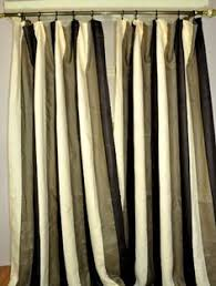 Striped Linen Curtains Raw Linen Linens Window And Window Coverings