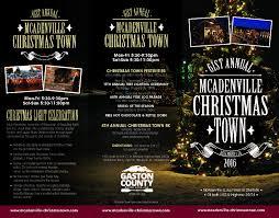 christmas town usa mcadenville christmas lights u0026 tree lighting