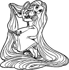 rapunzel disney princess coloring page wecoloringpage