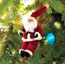 santa claus comes in day how ornament my