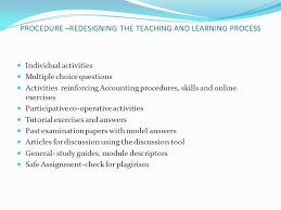 using a blended learning approach to teach accounting education to