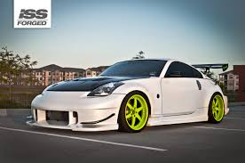 nissan 350z custom nissan 350z on iss forged fs 6r iss forged handcrafted for