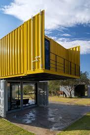 contemporary shipping container house in la primavera shipping