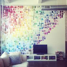 29 wall decoration ideas that only look expensive paint swatches