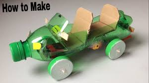 How To Make A Toy Box Easy by How To Make A Car Out Of Plastic Bottle Powered Car Electric
