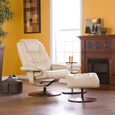 Rooms To Go Leather Recliner Amazon Com Bonded Leather Recliner And Ottoman Taupe Kitchen