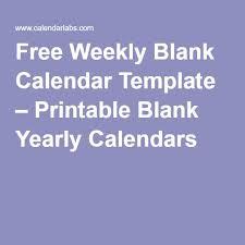 25 unique blank calendar template ideas on pinterest free blank