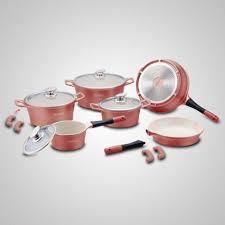 batterie cuisine ceramique batterie de cuisine de 14 pièces en céramique 17