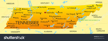Tennessee State Parks Map by Tennessee State Map World Map