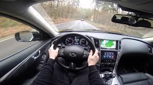 lexus is350 f sport bhp infiniti q50s 3 5 hybrid 364 bhp pov test drive gopro youtube