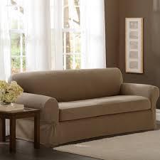 T Cushion Sofa Slip Cover Tips Slipcovered Sofa 2 Piece T Cushion Sofa Slipcover