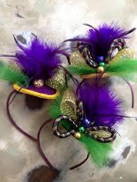 mardi gras headband fleurty girl everything new orleans metallic mardi gras headband