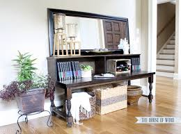 Diy Console Table 10 Stunning Diy Console Tables