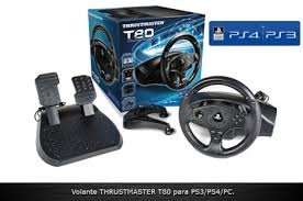 volante ps3 thrustmaster volante thrustmaster t80 racing wheel ps3 ps4 cockpit racing