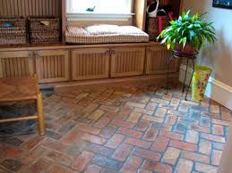 living scenic best tile for basement floor looks like brick