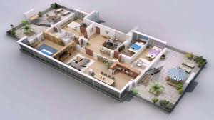 Home Design Gallery Youtube by House Plan One Floor House Design Plans 3d Youtube House Design