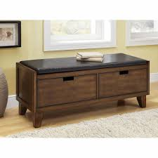 Wood Storage Bench Plans Free by Furniture Black Wooden Pull Out Shoe Storage Bench Combined With