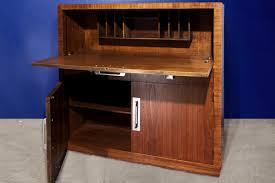 sold modern age art deco drop down desk secretary c 1940s