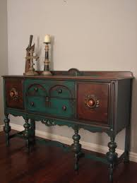 Mirrored Sideboards And Buffets by Furniture Antique Sideboard Buffet With Four Drawers And Candle
