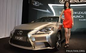 lexus car centre penang new lexus is launched